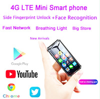 Melrose 2019END Mini Android Smartphone 2GB 32GB 2000mAh 4G Network Wifi GPS 3.5'' Small Size Face Recognion Backup Mobile Phone