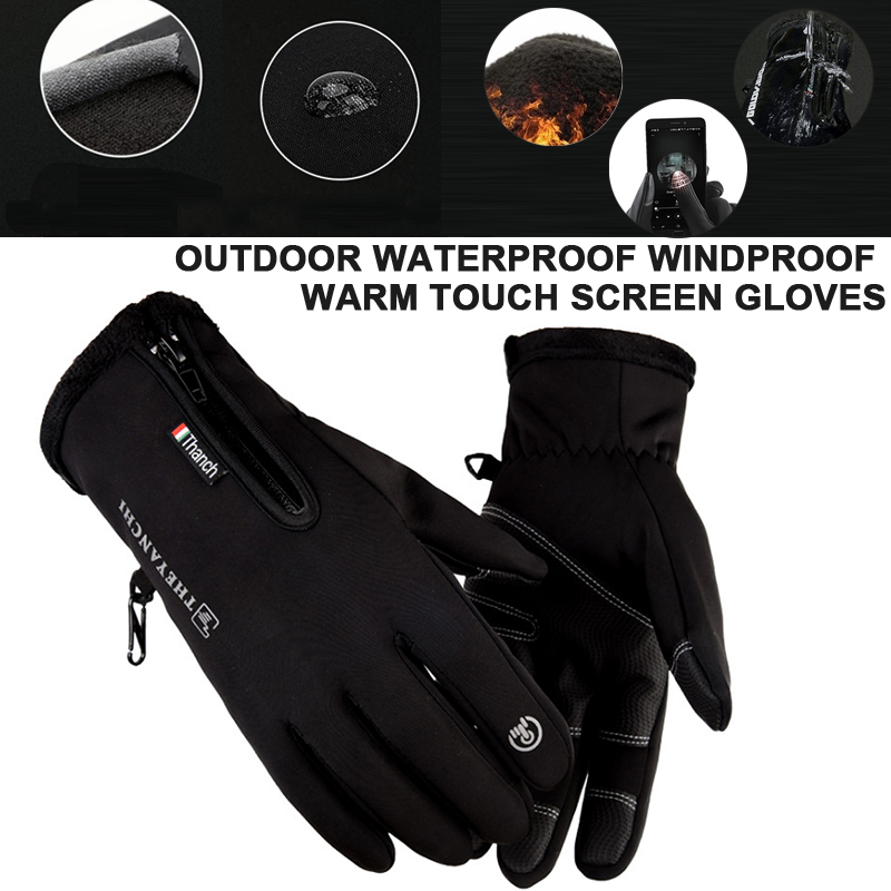 Durable Waterproof Touch Screen Keep Warm Riding Skiing Mobile Phone Ski Gloves Warm Gloves Riding Glove Sports Gloves