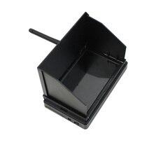 JMT 5.8 グラム 48CH 4.3 インチ液晶 480 × 22 ピクセル 16:9 NTSC/PAL FPV レシーバモニター自動検索 osd ビルドのバッテリー