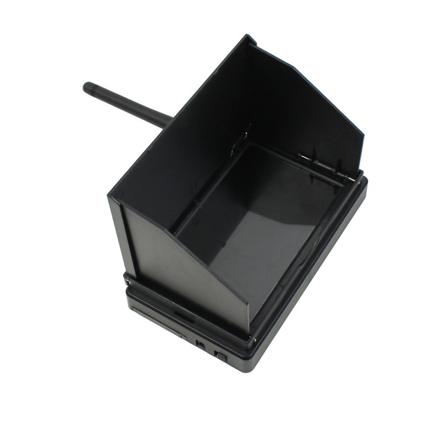 JMT 5.8G 48CH 4.3 Inch LCD 480x22 pixels 16:9 NTSC / PAL FPV Reciever Monitor Auto Search With OSD Build in Battery
