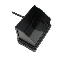 JMT 5.8G 48CH 4.3 אינץ LCD 480x22 פיקסלים 16:9 NTSC/PAL FPV מקלט צג אוטומטי חיפוש עם OSD Build in סוללה