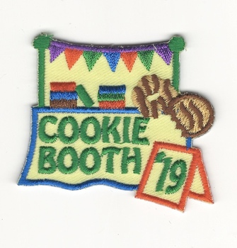 Embroidery badge patch personalized customization display:pan dulce image