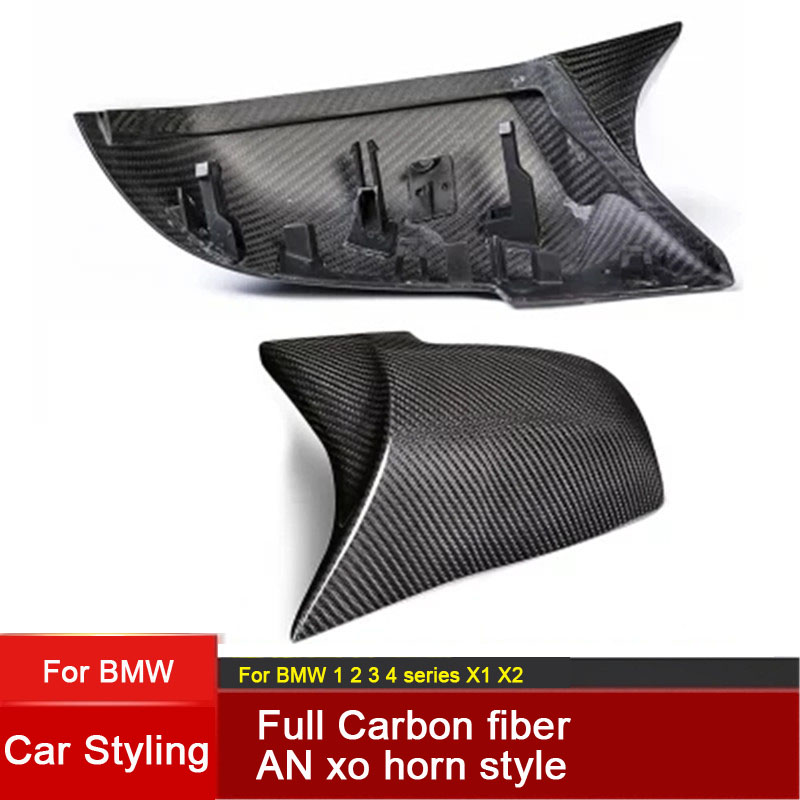 Car Accessories Replacement Carbon Fiber M Look Car Mirror Covers Caps Shell for <font><b>BMW</b></font> 1 2 <font><b>3</b></font> series F20 F21 F22 F23 F30 F31 F34 image