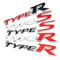3D Металлическая Автомобильная передняя решетка Автомобильная эмблема значок наклейки для Honda Тип R гоночный тип S спортивный логотип Civic Accord...