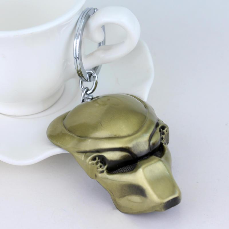 Fashion Vintage Bronze Plated Alien Predator Keychain AVP Alien Queen - Κοσμήματα μόδας - Φωτογραφία 6