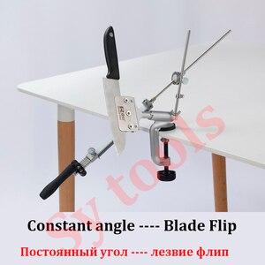Image 3 - Ruixin Pro afilador de cuchillos con ángulo constante de giro de 360 grados, máquina amoladora, piedra de afilar de diamante, novedad