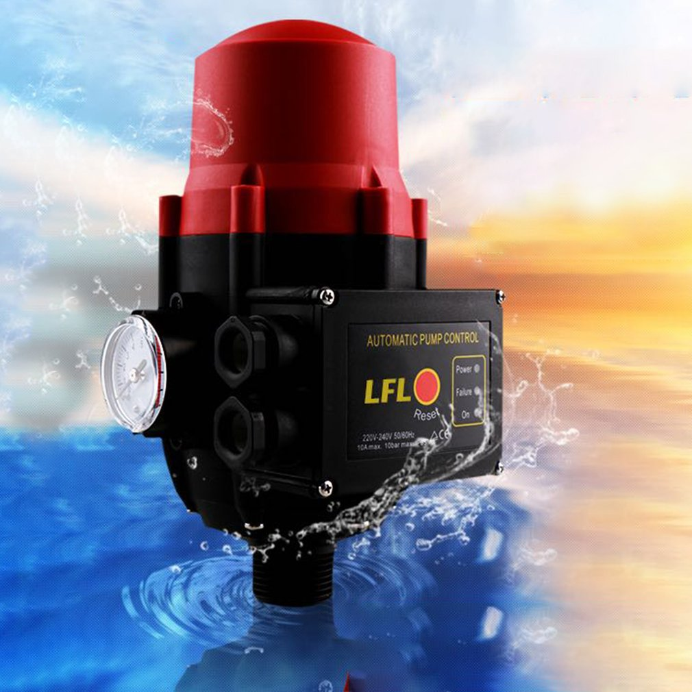 Automatic Pump Control Water Flow Pressure Controller Water Pump Intelligent Automatic Controller Adjustable