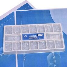 64 шт. зубная прозрачная смола предварительно коронка зубная коронка Лиственные зубы взрослых
