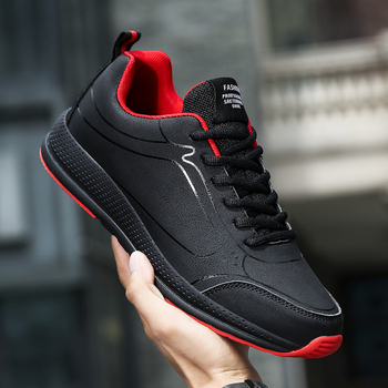 Men Sneakers 2020 New PU Breathable Skateboard Shoes Outdoor Male Walking Shoes Men Sapatilhas Homem Shoes Size 38-45 1