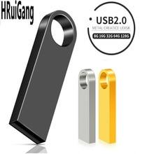 quality usb flash drive pen drive 4GB 8GB 16GB 32GB 64GB 128GB waterproof Metal Key pendrive Card Memory Stick Drives u disk цена 2017