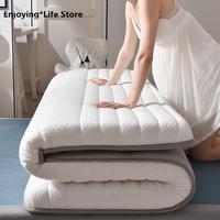 Thickness 6cm New Fashion Latex Mattress Folding Mattress For Queen/King /Twin/Full Size Bed Breathe Foam Tatami Mattress