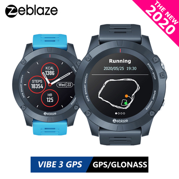 New 2020 Zeblaze VIBE 3 GPS Smartwatch Heart Rate Multi Sports Modes Waterproof/Better Battery Life GPS Watch For Android/IOS цена 2017
