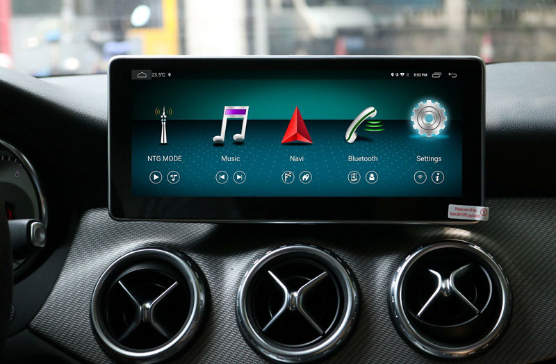 10.25 inch 4+64G Android Multimedia Player Touch Screen <font><b>for</b></font> <font><b>Mercedes</b></font> Benz A GLA CLA Class W176 2013 to 2018 Car Radio <font><b>GPS</b></font> Navi image