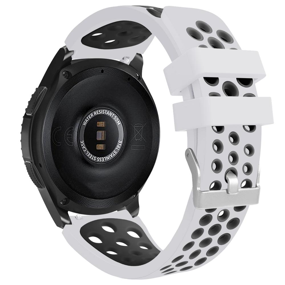XMUXI спортивный ремешок для Samsung Galaxy Watch 46 мм Gear S3, Классический сменный ремешок для часов Huawei 22 мм, ремешок для часов 91012