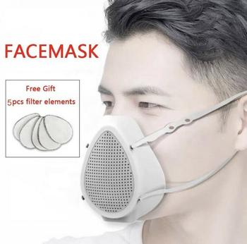 Electric Mask Mouth Dust Face Breathable-Valve Cover Masks  Breathing Valve Fashion Electric Mask Intelligent Mascarillas 1