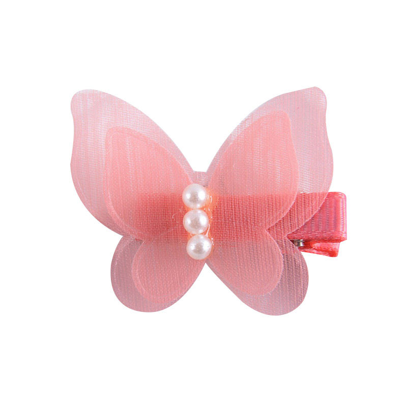 Cute Children Hair Clip Hair Accessories Headwear Baby Pearl Bow Kids Barrettes Baby Girls Hairpins Girl Styling Accessories