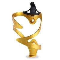 3D uchwyt na bidon do roweru kolarstwo rower uchwyt na bidon Ultralight uchwyty na butelki ze stopu Aluminium złoto w Uchwyty na bidon rowerowy od Sport i rozrywka na