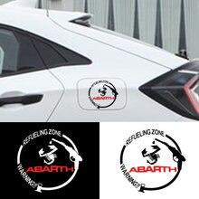 1 шт автомобильный значок защитные наклейки на крышку топливного