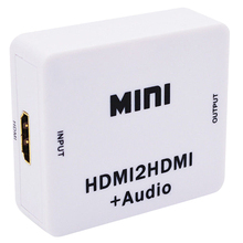 Hot 3C 1080P Hdmi Extractor Splitter Hdmi Digitale Naar Analoge 3.5Mm Out Audio Hdmi2Hdmi