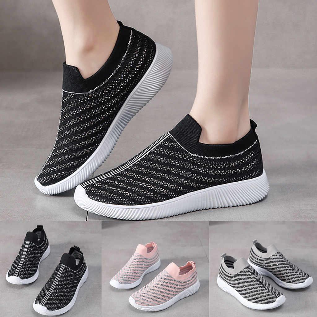 Frauen Laufschuhe Sommer Turnschuhe Athletische Frau Sport Schuhe Damen Trainer Schuhe Weiches Licht Outdoor Zapatillas Mujer # g4