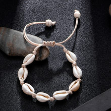 Anklet Bracelet Jewelry Shell Conch Women's Female Handmade Hawaiian Bracelet Anklet Hawaiian Beach Foot Jewelry(China)