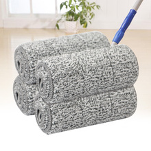 10 Pcs Household Floor Mop Pad Thick Reusable Soft Easy Install Washable Cleaning Sweeping Microfiber Water Absorption Quick Dry