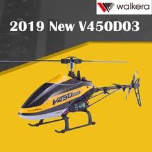 Новинка Walkera V450D03 6CH 3D Fly 6-осевая стабилизация Системы с одним лезвием профессионального пульт дистанционного управления Управление вертолет