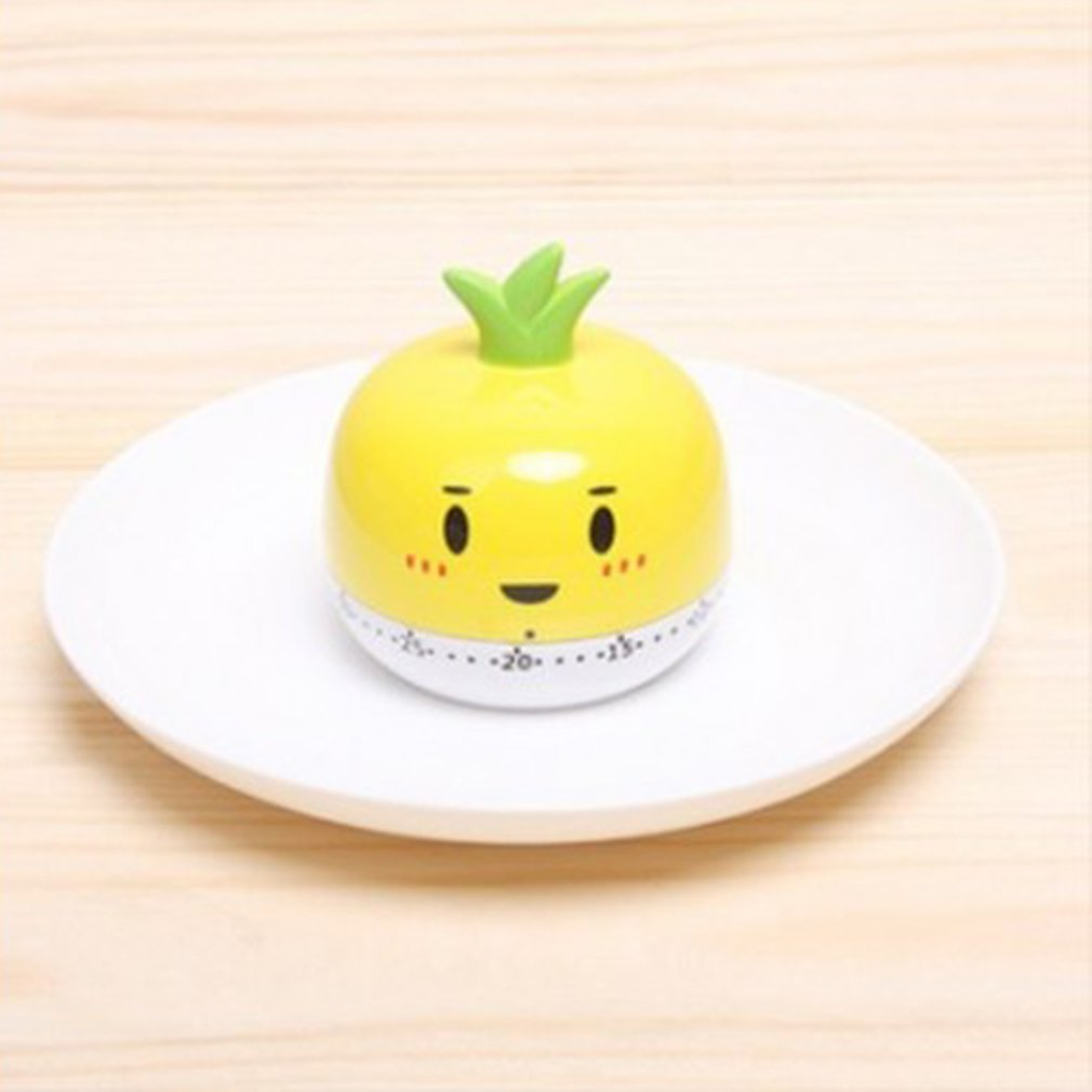 Kitchen professional peace of mind cooking artifact cute vegetable kitchen timer alarm clock kitchen timing tool