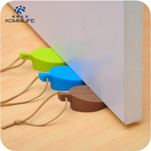 Door-Stopper Leaves-Shaped Prevent-Jamming-Hands Silicone Rubber Floor New The Food-Grade