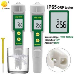 Portátil à prova dportable água orp meter caneta testador de qualidade da água solução redução de oxidação negativo teste potencial também