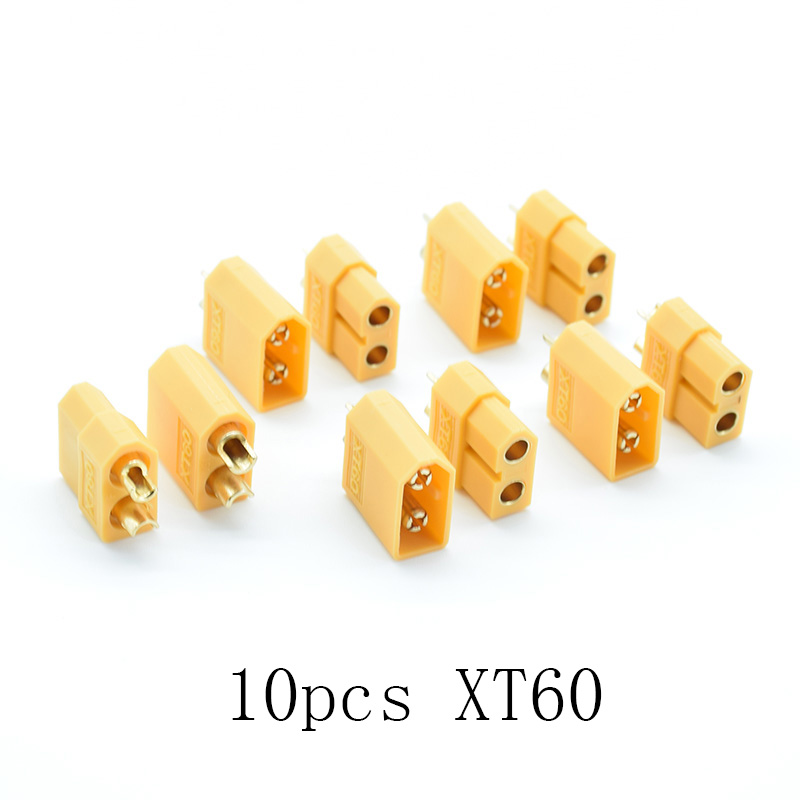 10pcs/5 Pair XT30 / XT60 XT-60 Male Female Bullet Connectors Plugs For RC Lipo Battery Quadcopter Multicopter