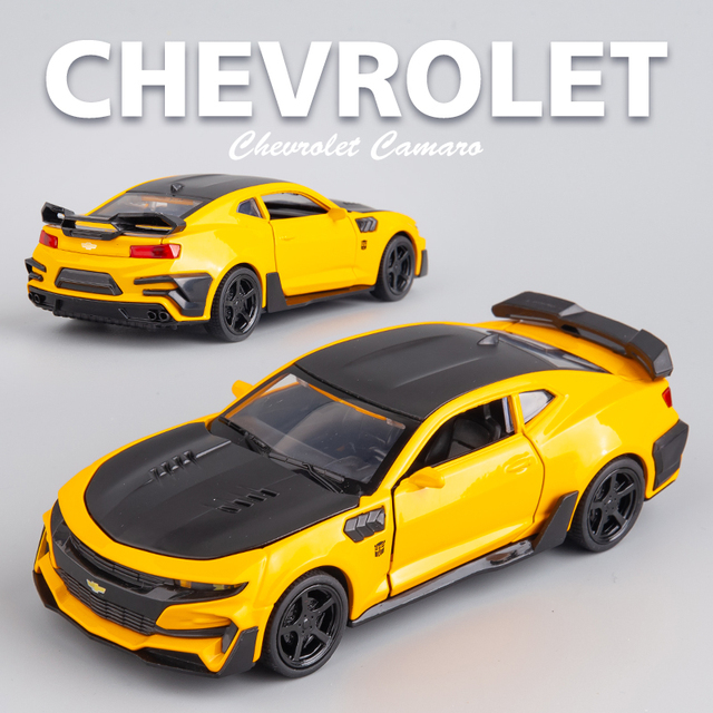 New 1:32 Chevrolet Camaro Alloy Car Model Diecasts & Toy Vehicles Toy Cars Free Shipping Kid Toys For Children Gifts Boy Toy 1