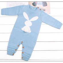 casaco infantil bebes girl snow clothes winter rompers hoodies roupa kids clothing one piece baby girls boys love pink suits Baby Boys Girls Rompers Winter Newborn Girls Jumpsuits Long Sleeves Infant Bebe Overalls Knitted Clothes Boys One Piece Clothing