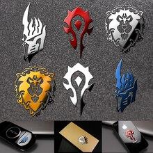 World of Warcraft металлическая наклейка s cosplay Prop стикер для мобильного телефона холодильника ноутбука