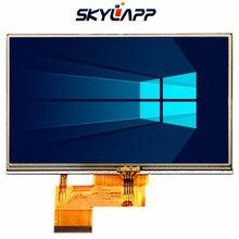 AT043TN24 V.4 4.3 cal ekran LCD dla Garmin Nuvi 765 765 T 1690 GPS wyświetlacz LCD ekran panelu ekran dotykowy zamiennik digitizera