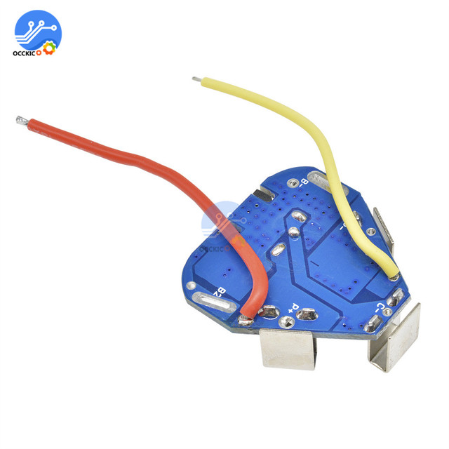 BMS 3S 12.6V 6A 18650 Li-ion Lithium Battery Charger Protection Board Power Bank Balancer Equalizer for Motor Drill 4