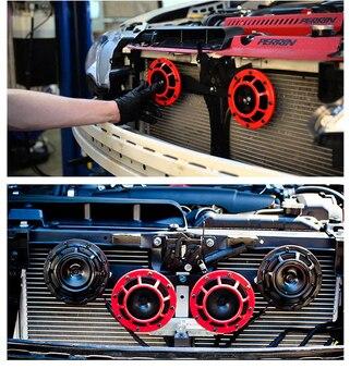 Red/Black 139Db  Multi-tone  Car Horn 12V  a pair  For Subaru Impreza WRX Evo New blox sport racing adjustment red polish manual boost controller universal mbcturbo for honda evo wrx ep bxbc008