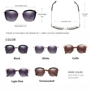 Image 2 - PARZIN Women Sunglasses Polarzied Elegant Lady Vintage Sun Glasses Women For Driving Eyewear Gafas De Sol Okulary