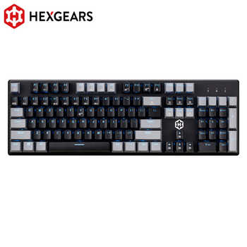 HEXGEARS GK706 Mechanical Gaming Keyboard Kailh MX Blue Switch 104 Key Water Resistance Mechanical Keyboard Pink - DISCOUNT ITEM  12 OFF Computer & Office