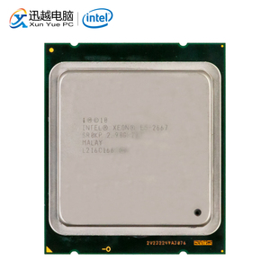 Intel Xeon 2667 настольный процессор шестиядерный 2,9 ГГц 15 Мб кэш L3 LGA 2011