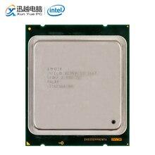 Intel Xeon E5 2667 שולחן עבודה מעבד 2667 שש ליבות 2.9GHz 15MB L3 מטמון LGA 2011 שרת מעבד משומש