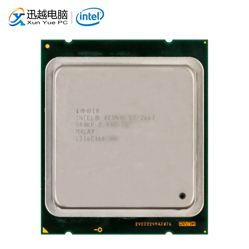 Intel Xeon E5-2667 Desktop Processor 2667 Six-Core 2.9GHz 15MB L3 Cache LGA 2011 Server Used CPU
