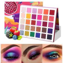 30Color Lasting Shimmer Shade Waterproof Bright Eye Shadow Palette Portable Professional Eyeshadow Palette Glitter Cosmetics(China)