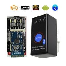 MINI ELM327 Bluetooth V 1,5 Netzschalter ULME 327 V 1,5 OBD2 OBD II Scanner für Android Torque Ulme 327 Bluetooth Diagnose Werkzeuge