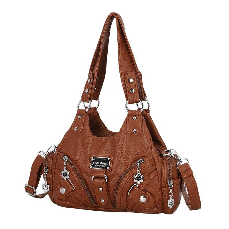 Bolsa feminina do vintage pequena bolsa de