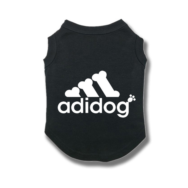 Adidog Summer Pet Dog Cat Vest Clothing for Small Large Dogs,Breathable 100% Cotton Pet Shirt,Chihuahua French Bulldog Clothing 2