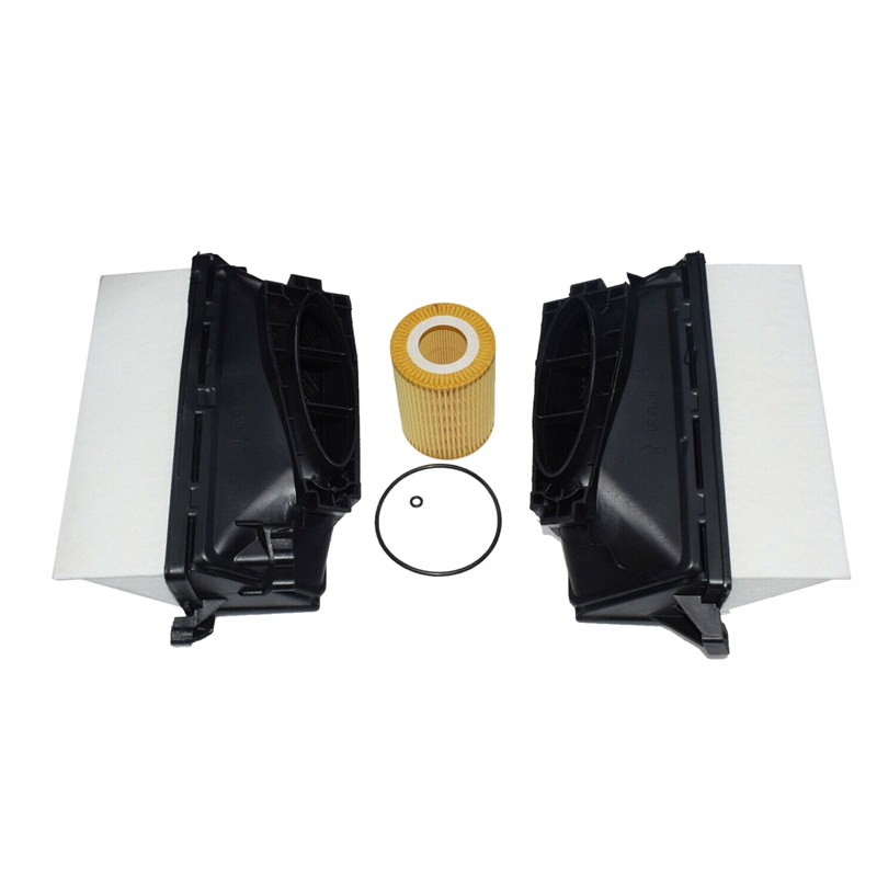 Car Engine Air and Oil Filter Kit for Mercedes Benz W164 W166 W211 W212 6420940000 6421800009