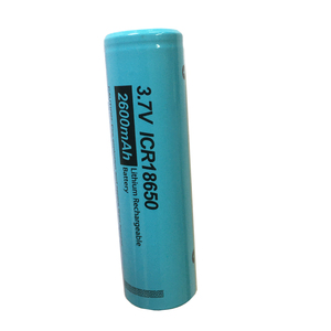 Image 2 - 2PCS PKCELL 18650 li ion battery ICR18650 2600MAH 3.7V lithium rechargeable battery button top flashlight Torch Accumulator Cell