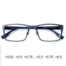 Homens retângulo óculos de leitura anti-reflexo 2 1 0 0.25 0.75 1.25 1.5 1.75 2.25 2.5 2.75 3.25 3.5 3.75 4 3 4.25