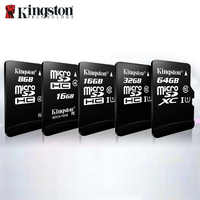 Kingston Micro SD 8gb 16gb 32gb 64gb 128gb 256GB tarjeta de memoria Flash, Microsd SDHC/SDXC, Clase 10, Dropshipping. Exclusivo. TF carta Micro sd